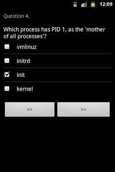LPI Exam 101 Trainer apk screenshot