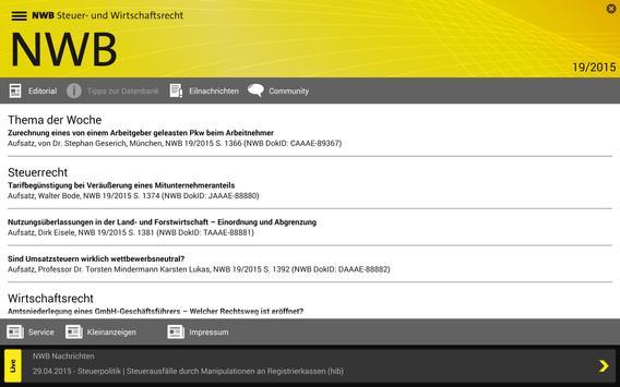 NWB Zeitschriften screenshot 3