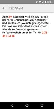Stadtfest Markdorf apk screenshot