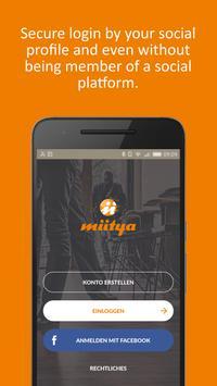 miitya The Instant Meeting App poster