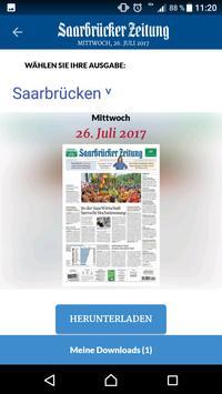 Saarbrücker Zeitung Aktuell apk screenshot