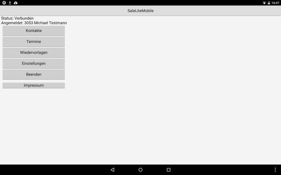 SaleLiteMobile apk screenshot