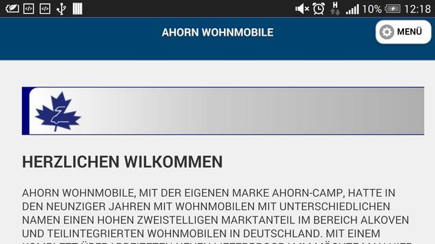 Ahorn Wohnmobile GmbH & Co KG poster