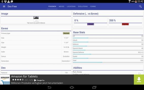 """Pokedex """"Dex"""" Free apk screenshot"""