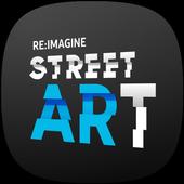 reimagine Street ARt icon