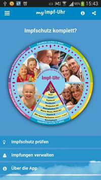 Impf-Uhr 3.0 poster