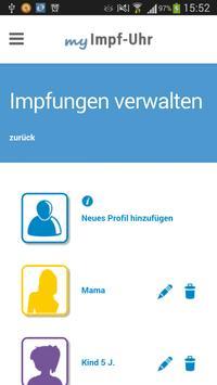 Impf-Uhr 3.0 apk screenshot