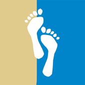 Sand an den Füßen icon