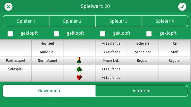 Schafkopf-Liste apk screenshot