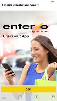 entervo Check-out App EN poster