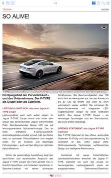 bfp Jaguar Spot – das Magazin apk screenshot