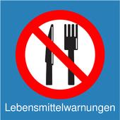 Lebensmittelwarnungen icon