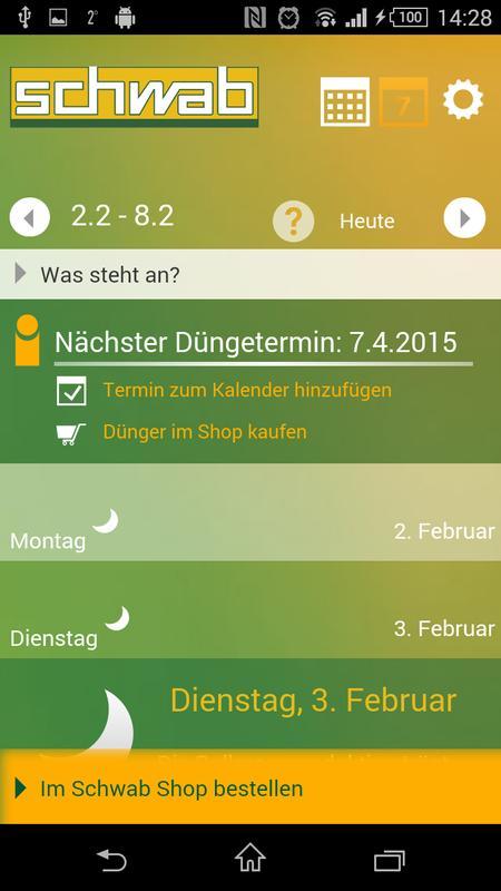 mondkalender 2018 apk download free tools app for android. Black Bedroom Furniture Sets. Home Design Ideas