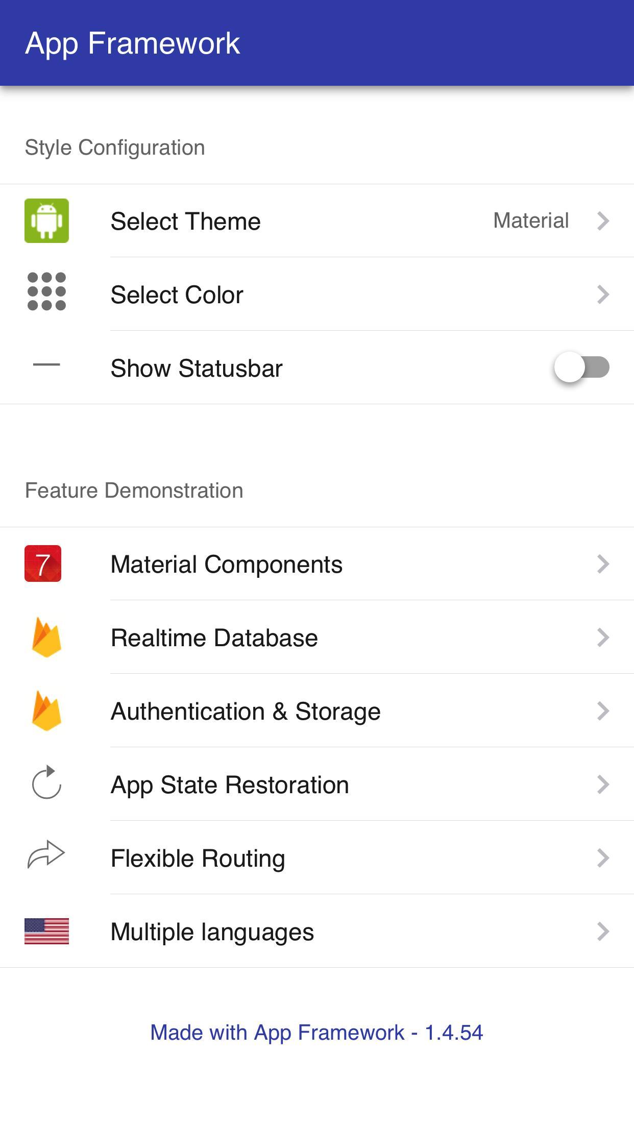 App Framework for Android - APK Download