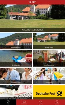 Waldhotel Berghof poster