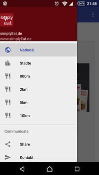 simplyEat - Gutscheine apk screenshot
