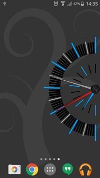 Clock 180 Live Wallpaper apk screenshot