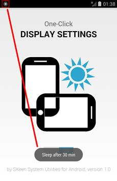 One-Click Display Settings apk screenshot