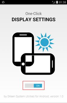 One-Click Display Settings poster