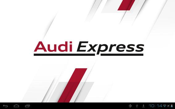 Audi Express DE poster