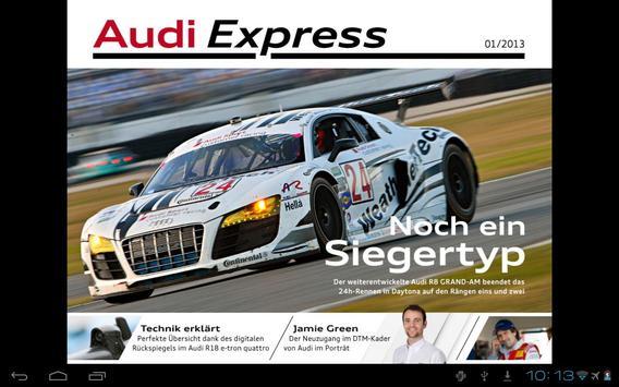 Audi Express DE apk screenshot
