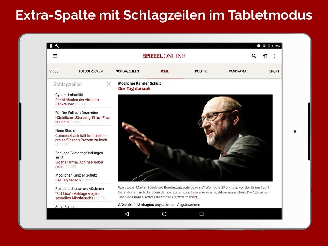 spiegel online news apk download free news magazines app for android. Black Bedroom Furniture Sets. Home Design Ideas