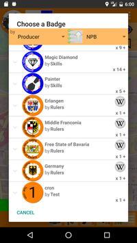 Badge(r)s screenshot 2