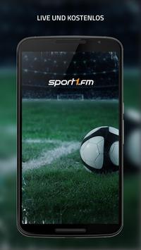 SPORT1.fm – Deine Fußballwelt für unterwegs poster