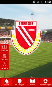 FC Energie poster