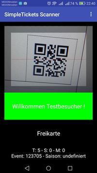 simpletickets.de Scanner poster