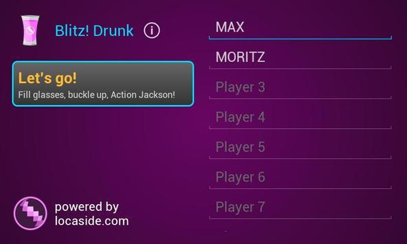 Blitz! Drunk ★ Drinking Game ★ poster
