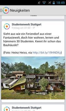 Studierendenwerk Stuttgart poster