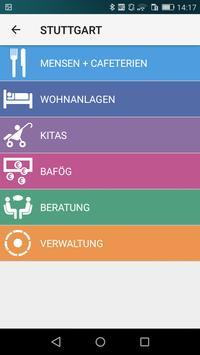 Studierendenwerk Stuttgart screenshot 1