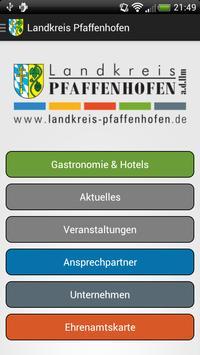 Landkreis Pfaffenhofen poster