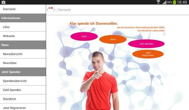 Deutsche Stammzellspenderdatei screenshot 7