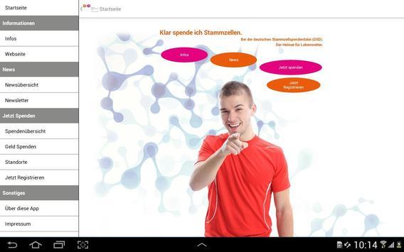 Deutsche Stammzellspenderdatei screenshot 4