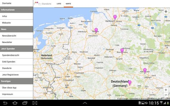 Deutsche Stammzellspenderdatei screenshot 6