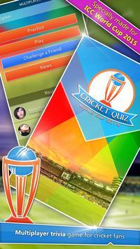 Cricket Quiz poster