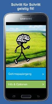 Gehirntraining & geistige Fitness poster