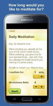 Daily Meditation screenshot 1