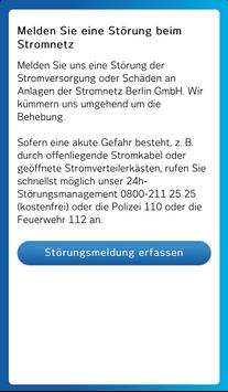 Stromnetz Berlin StörMeldung poster