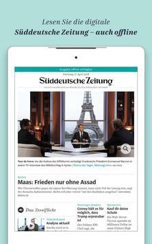 Süddeutsche Zeitung Zeitungsapp screenshot 7