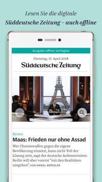 Süddeutsche Zeitung Zeitungsapp poster