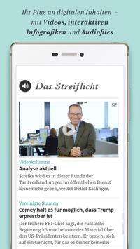 Süddeutsche Zeitung Zeitungsapp screenshot 1