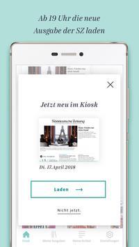 Süddeutsche Zeitung Zeitungsapp screenshot 2