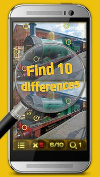 Memory Games for Kids: Find The Difference! poster