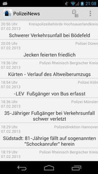 PolizeiNews Free poster