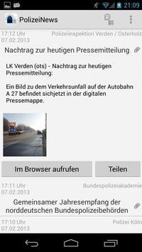 PolizeiNews Free apk screenshot
