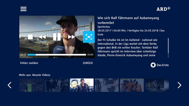 Sportschau apk screenshot