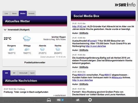 SWRinfo apk screenshot